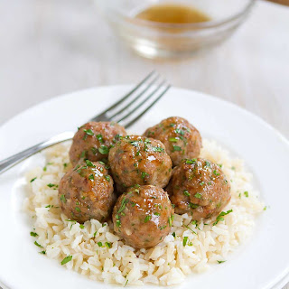 Honey Garlic Turkey Meatballs.