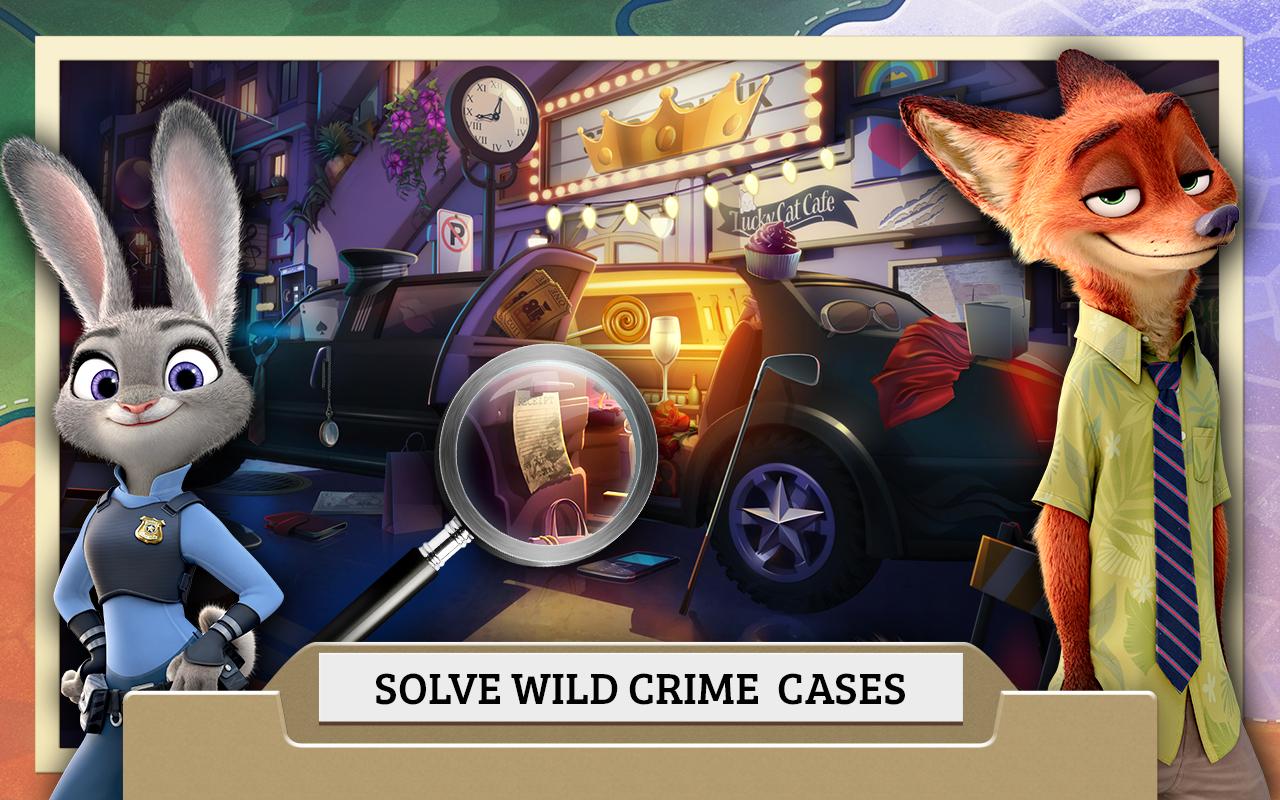 Zootopia Crime Files screenshot #1