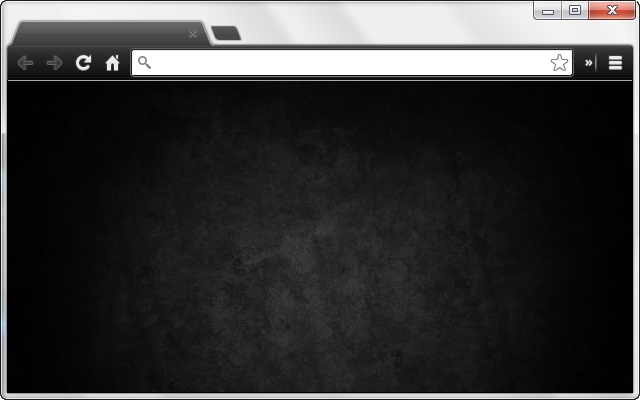 Blank New Tab Page (Dark)