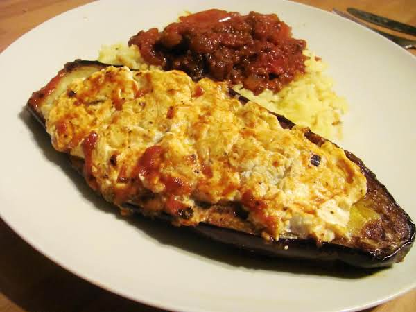 Cheese-stuffed Eggplant Recipe
