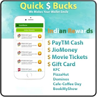 App QuickBucks- Free Money & Gifts APK for Windows Phone