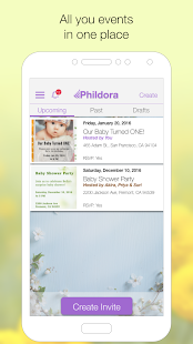 PHILDORA: GIF Invitation Maker- screenshot thumbnail