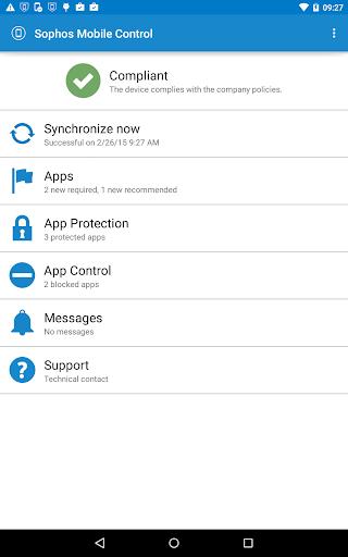 Sophos LG Plugin screenshot 5