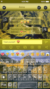 Emoji Keyboard Great Wall - náhled