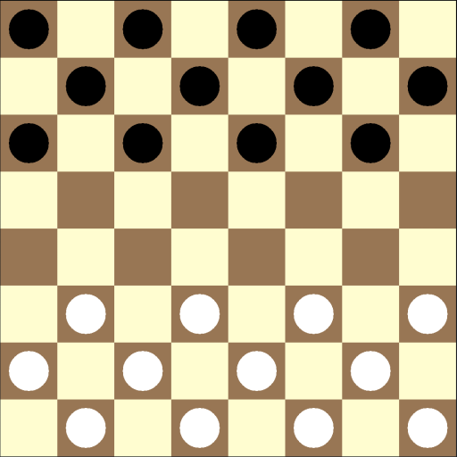 Board for italian draughts