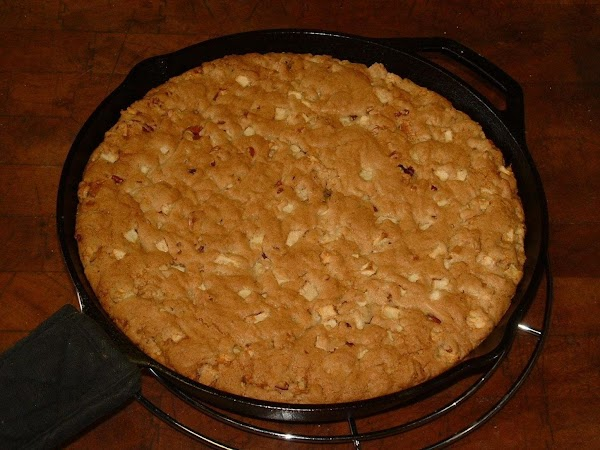 Let the cake cool in the pan on a cooling rack for 30 minutes...
