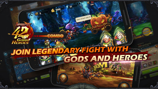 Legends of 42 Gods and Heroes screenshot