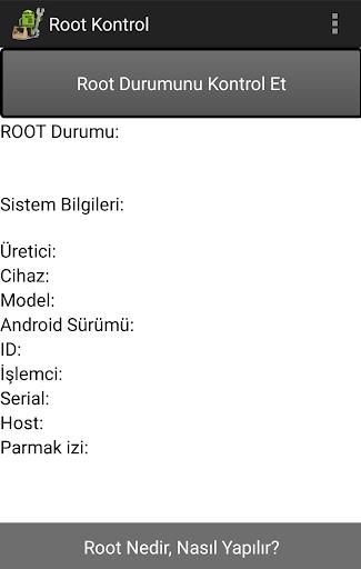 Root Kontrol