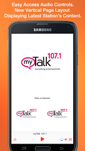 myTalk 107.1- screenshot thumbnail
