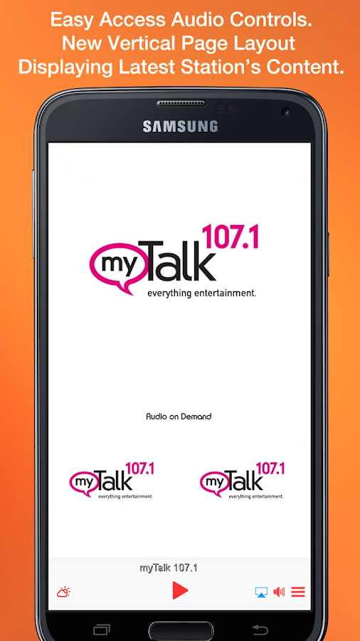 myTalk 107.1- screenshot