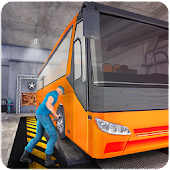 Bus Mechanic Simulator Game 3D
