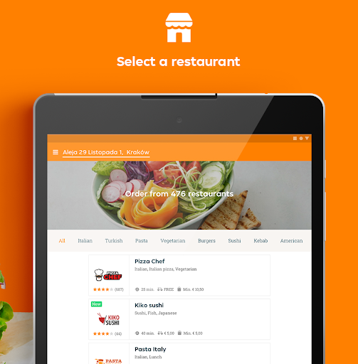 Pyszne.pl u2013 order food online screenshots 8