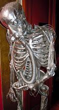 Photo: C'est ce qu'on appelle avoir un squelette argenté
