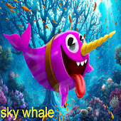 Sky Water Whale