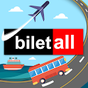 Biletall I Otobüs ve Uçak Bileti icon