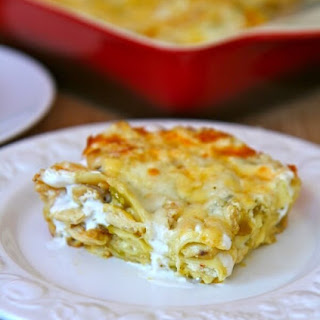 Green Chili Chicken Lasagna Recipes.