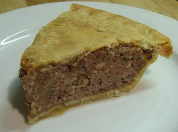 French Meat Pie Recipe