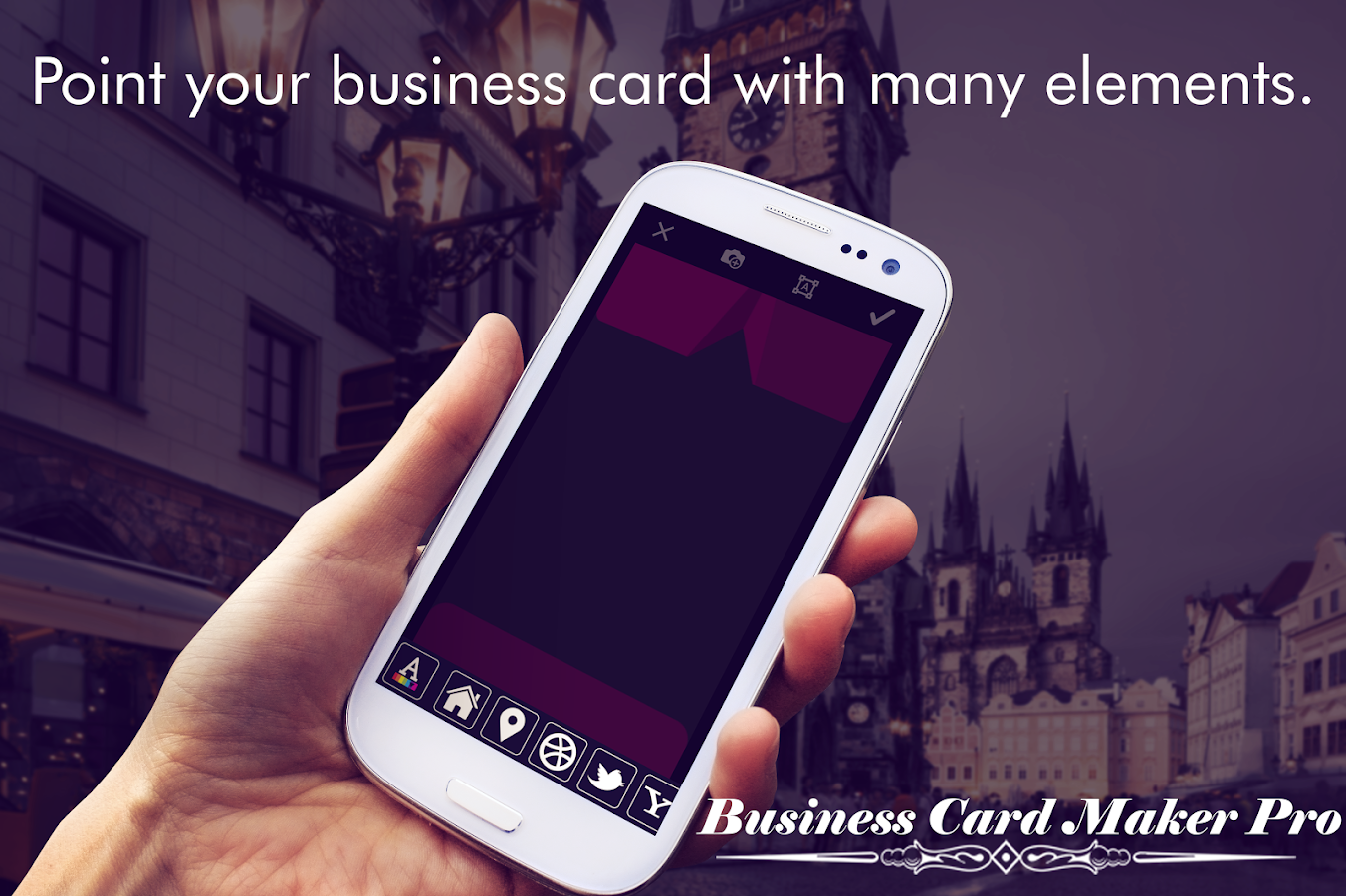 Business Card Maker Pro- screenshot