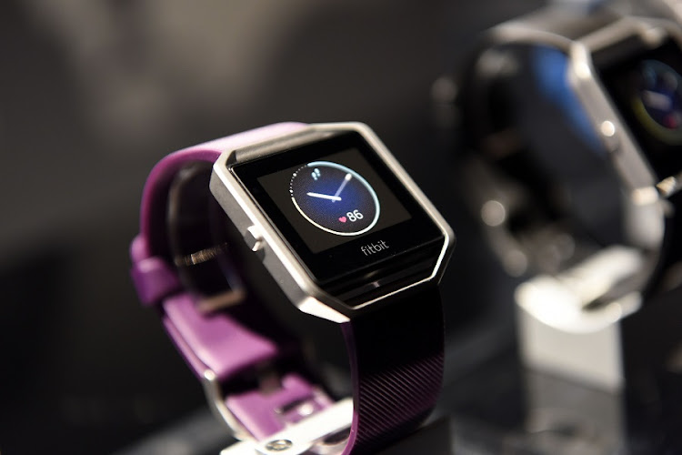 Fitbit's Blaze smartwatch. Picture: BLOOMBERG