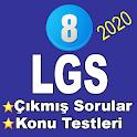 LGS Çıkmış Sorular Konu Testleri icon