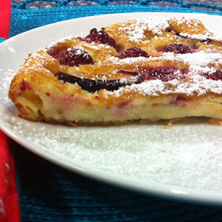 Simple and Beautiful Flaugnarde (French Flan Tart with Fruit)