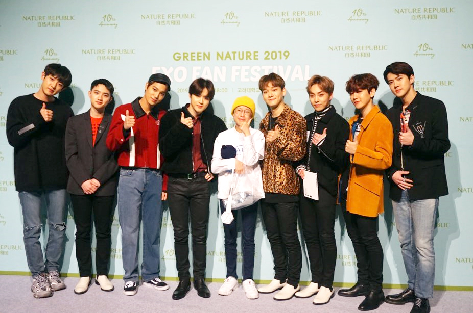 EXO Recently Granted The Wish Of A Fan Who's Battling Cancer