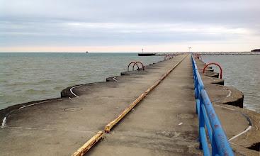 Photo: The Port Austin Breakwater