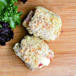 Low Carb Chicken Cordon Bleu Thighs Recipe