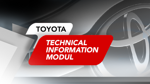 TOYOTA Technical Information Modul screenshot 1