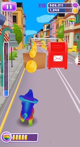 Talking Cat Run - Talking Kitty Kitten apkpoly screenshots 13