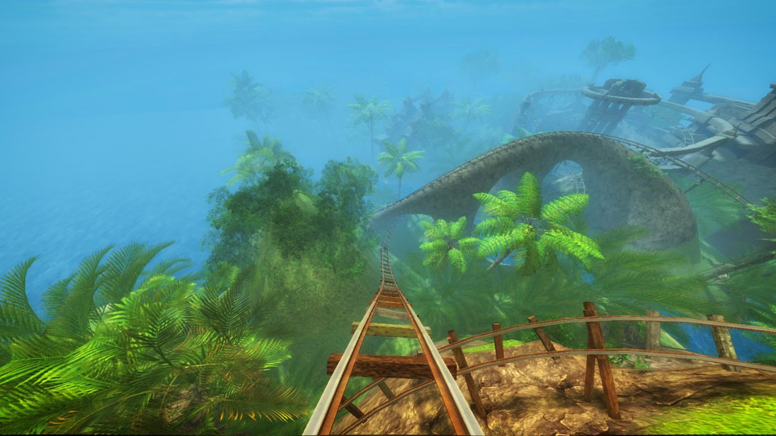 Roller Coaster VR attraction- screenshot