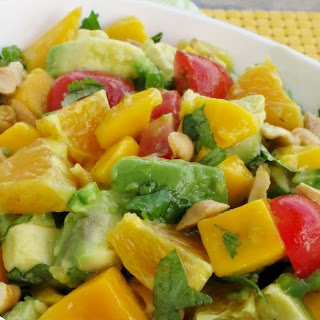 Avocado, Mango & Orange Salad