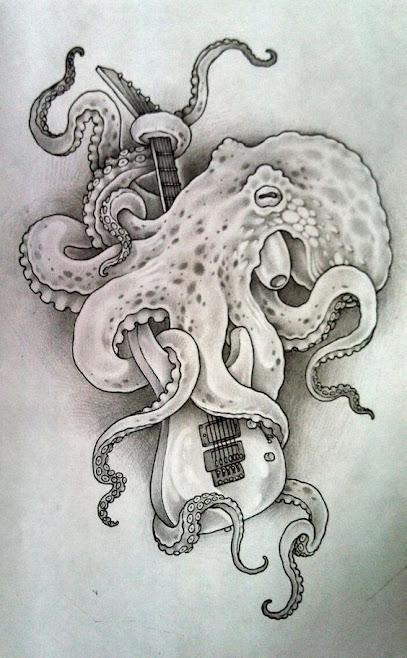 b9bdb4e34257d 55 Eye Catching octopus Tattoos ideas for Men And Women