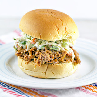 Crockpot BBQ Pork Sliders.