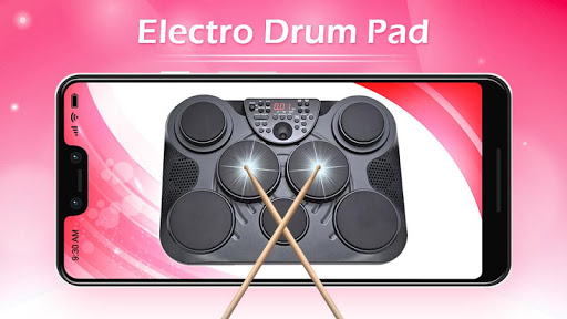electro music drum pads drums music game mod apk unlimited android. Black Bedroom Furniture Sets. Home Design Ideas