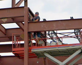 Photo: It's Thor, welding at the new Wegmans store on East Avenue.