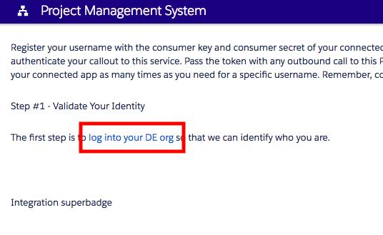 ProjectManagementSystemのログイン