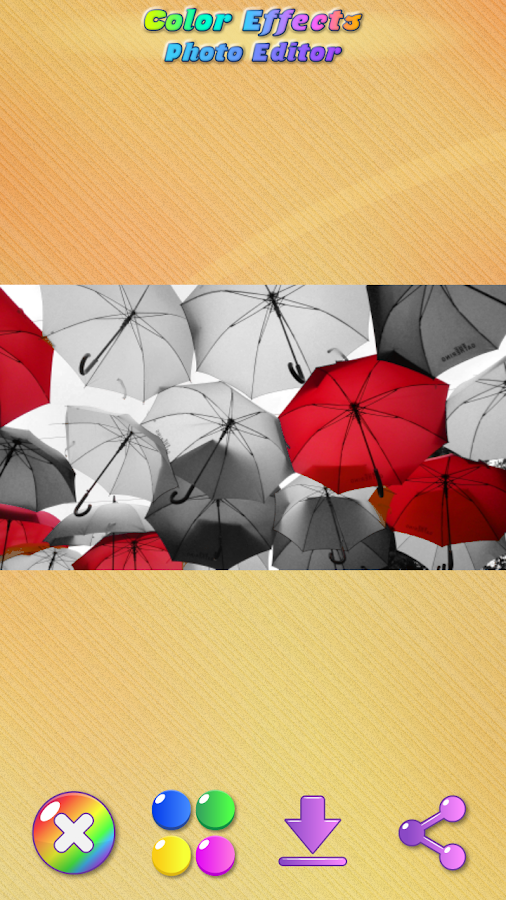 Color Effects Photo Editor Screenshot