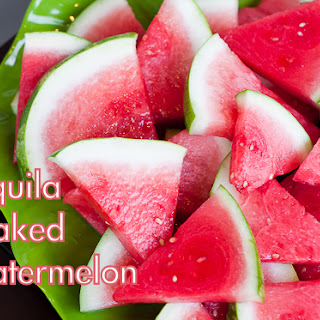 Tequila Soaked Watermelon