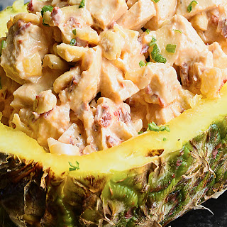 Chipotle Pineapple Chicken Salad