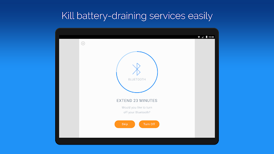 Battery Time Saver & Optimizer- screenshot thumbnail