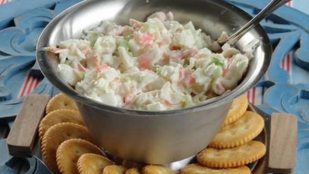 Hidden Valley Ranch Crab Salad Recipe