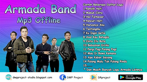 Lagu Armada Band Offline - NEW 2020 screenshots 1