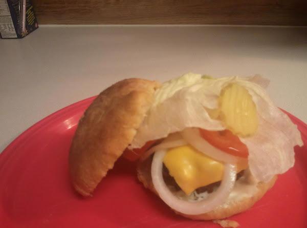 Candy's Onion Burgers Recipe