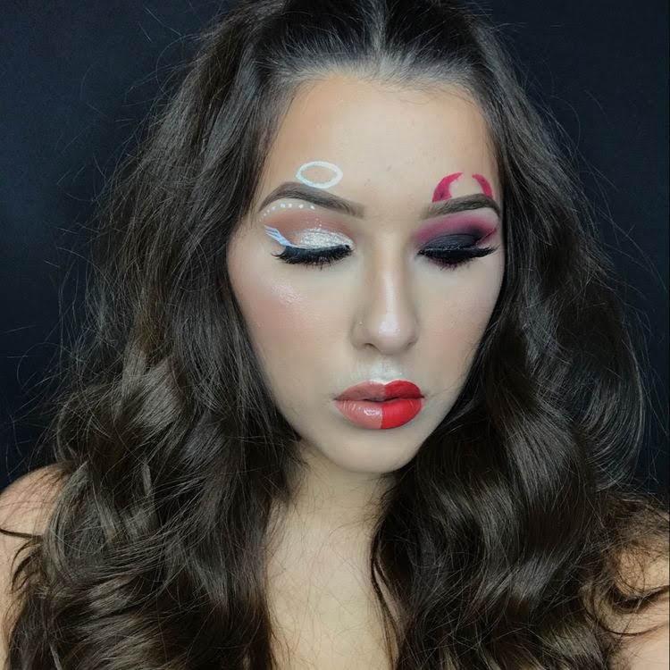 Halloween Makeup Devil And Angel.Halloween Makeup Ideas 36 Photos Inspired Beauty