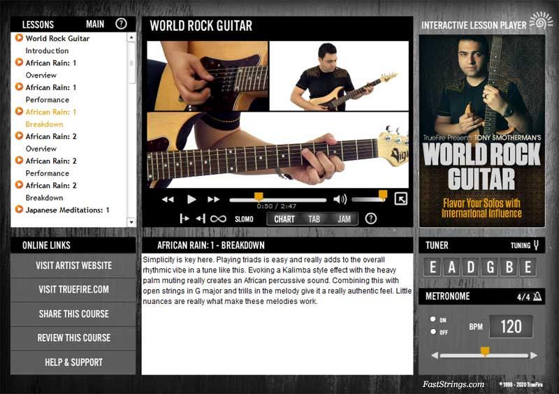 Tony Smotherman - World Rock Guitar