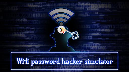 Wifi Password Hacker Simulated