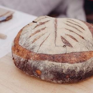 100% Whole Grain Sourdough Rye Bread.