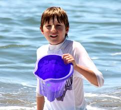 Photo: (Year 3) Day 22 - Matthew on the Beach