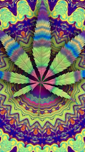 Psychedelic Marijuana Live Wallpaper Android App Screenshot